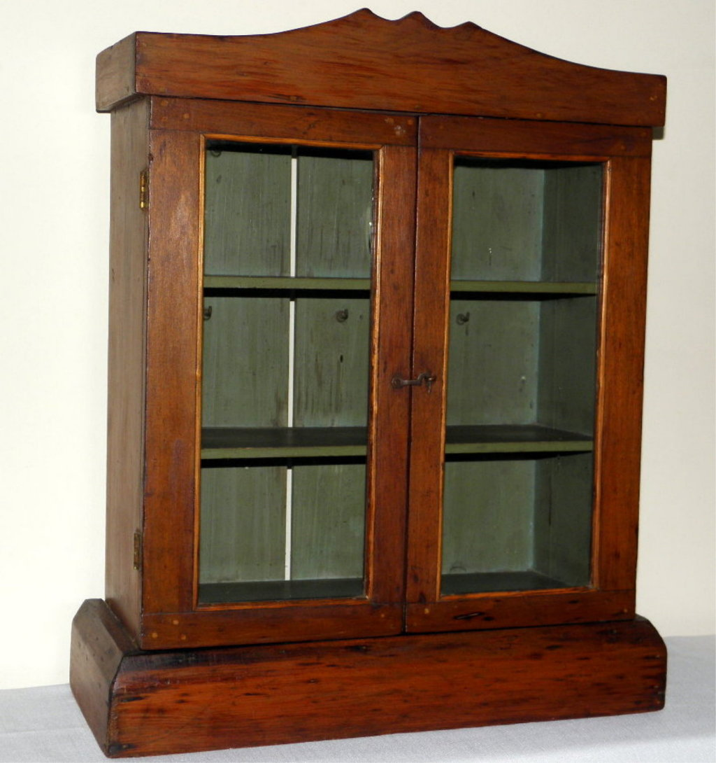 1090 #6C2E10 Charming Antique Wood And Old Glass Doors Wall Cabinet From  picture/photo Wood And Glass Doors 40191024