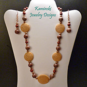 Jasper & Copper Set