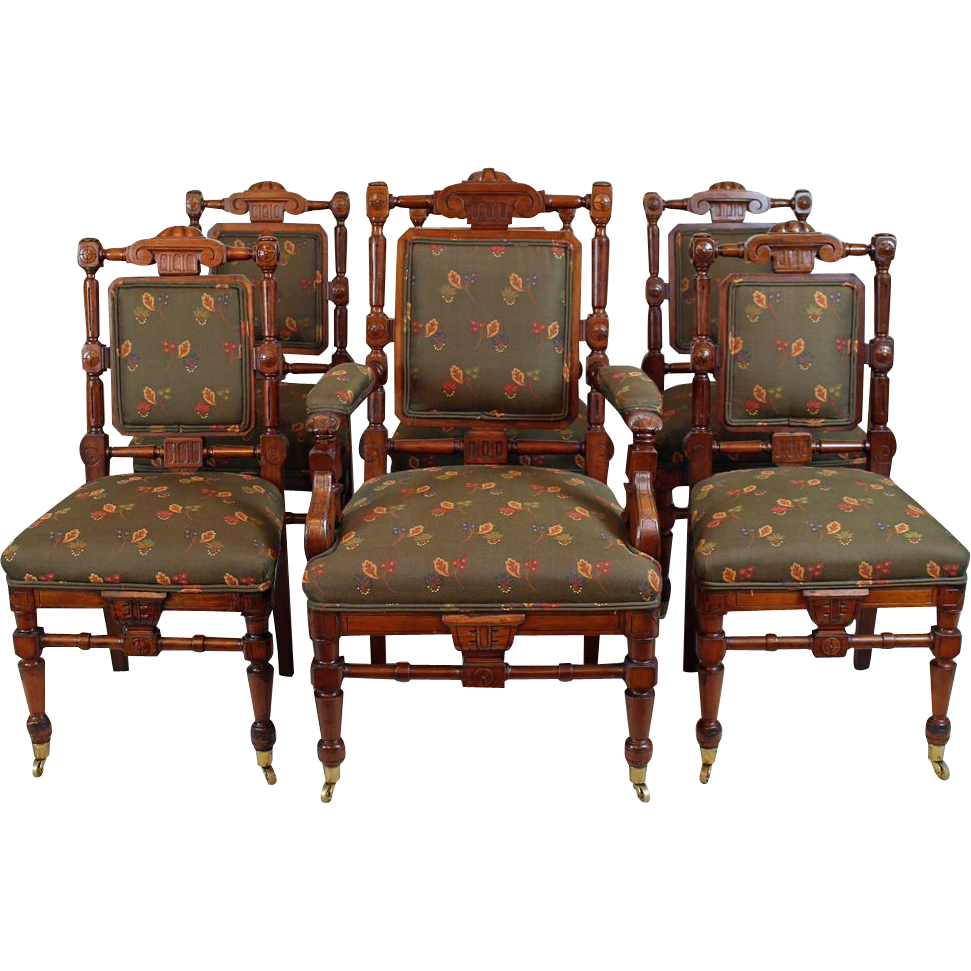 Lane Dining Room Sets Set Of Dining Room Chairs American Victorian C 1870 From Rubylane