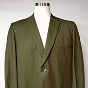 Mens 1960s Vintage Suit Jacket