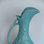 SOLD McCoy Blue Pitcher Vase