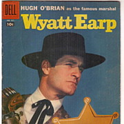 Vintage Dell Comic #921, Featuring, Hugh O�Brian as Famous Marshall Wyatt Earp 1958