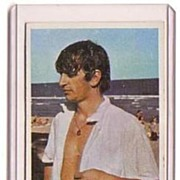 A Vintage Entertainment Trading Card of the Beatles,T.C.G.#56