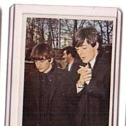 A Vintage Entertainment Trading Card of the Beatles,T.C.G.#58