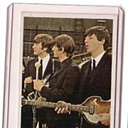 A Vintage Entertainment Trading Card of the Beatles,T.C.G.# 60