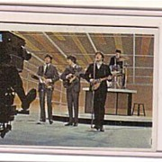 A Vintage Entertainment Trading Card of the Beatles,T.C.G.# 61