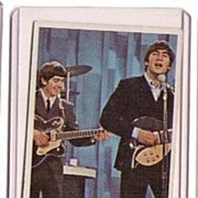 A Vintage Entertainment Trading Card of the Beatles,T.C.G.# 63