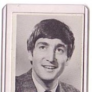 A Vintage Beatles Entertainment B+W Picture Trading Card, Topps # 7 of John