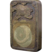 Chinese Green Inscribed Rectangular Ink Stone / Slab