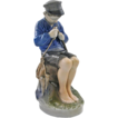 Royal Copenhagen &quot;The Whittler&quot; Figurine signed by Artist Christian Thomsen - 1951, Denmark
