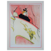 Numbered Lithograph &quot;La Loge au Mascaron Dore&quot; after Toulouse-Lautrec - c. 20th Century, France