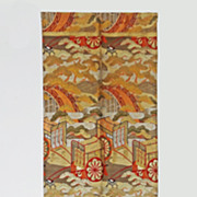Formal Maru Obi Sash / Belt for Kimono - c. 1900's, Japan