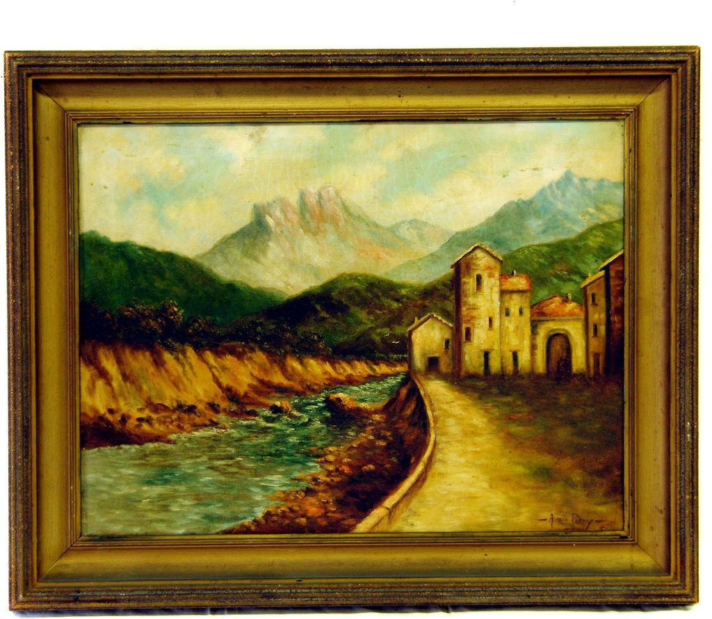 Signed Original Oil by Annette Perry (1872-1965)