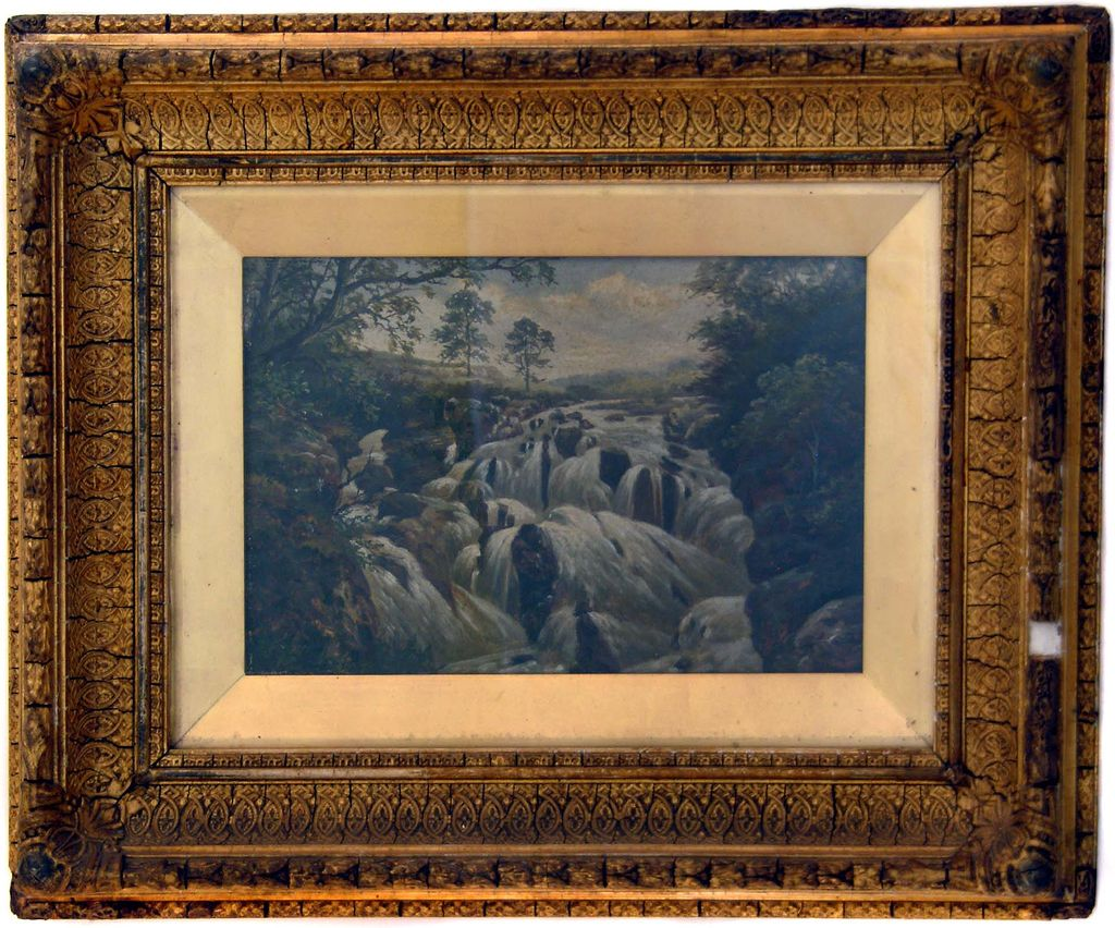 Swallow Falls Scenic Original Oil