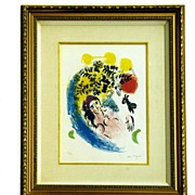 Marc Chagall Signed and Numbered Lithograph
