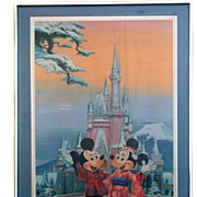 Charles Boyer Signed and Numbered Disney Japan Lithograph