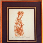 Connie King Signed and Numbered Lithograph