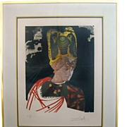 Salvador Dali Signed and Numbered Lithograph