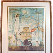 Signed and Numbered Lithograph by Salvador Dali