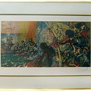 Salvador Dali Hand Signed and Artist Proof Lithograph