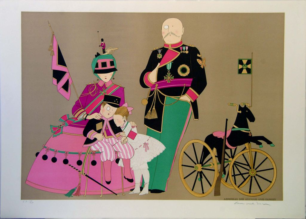 Signed and Numbered Philippe Noyer Lithograph