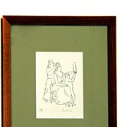 Signed and Numbered Pablo Picasso Lithograph