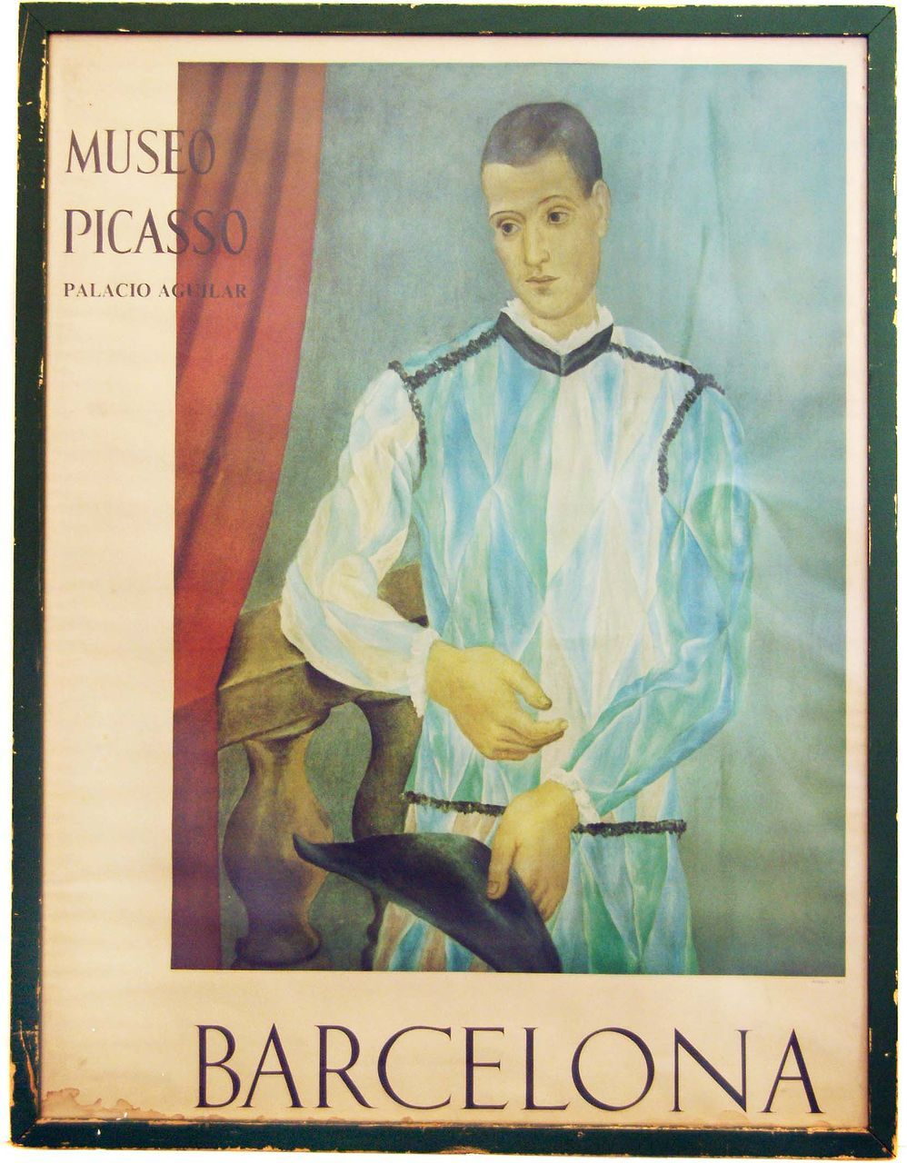Pablo Picasso Museum Exhibit Poster from Barcelona