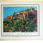Tony Bennett Hand Signed Art Print