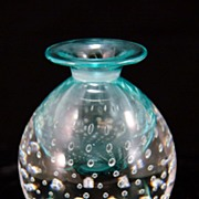 Small Art Glass Bud Vase