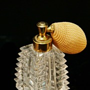 Decorative Cut Crystal Perfume Atomizer