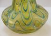 Loetz Vase with Streaks of Dark Green