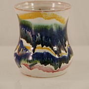 Small Colorful Vase by Cole Pottery
