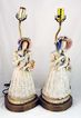 Cordey China Co. Porcelain Lamps