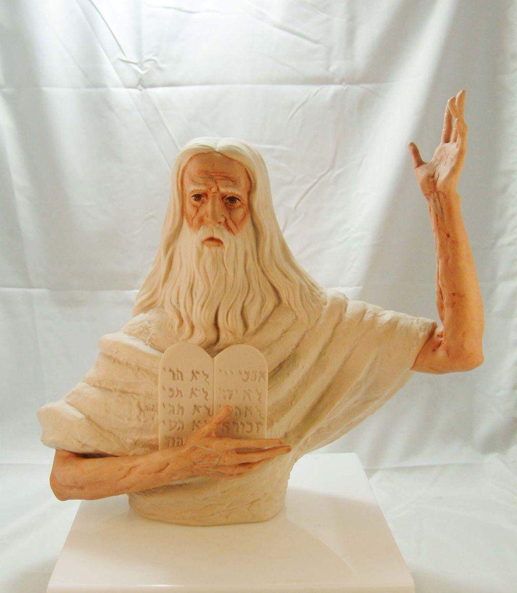 Ten commandments moses art viewing gallery