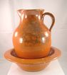 Jug Town Pottery Pitcher and Basin