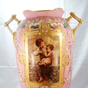 Paris Porcelain Vase c. 1840