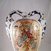 Satsuma Porcelain Vase from early 20th Century