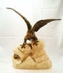 Signed Eagle Bronze by Theophile Somme c. 1901
