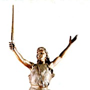 Very Large Siegfried Spelter Figurine with Magic Sword