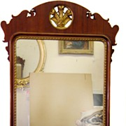 Large Mahogany Georgian Mirror