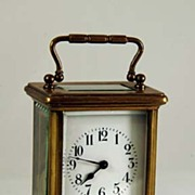 Old French Carriage Alarm Clock