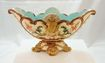 Old Majolica Centerpiece Signed WSS c. 1850