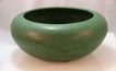 Matte Green Weller Pottery Bowl c. 1905