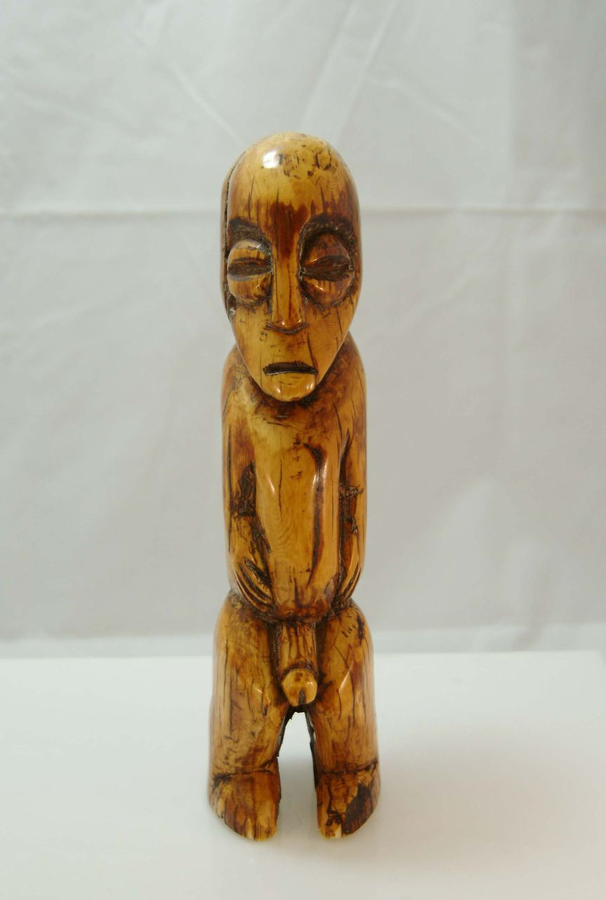 Very Old Ivory African Nude Figure