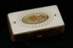 European Matchbox with Ivory Inlaid Top