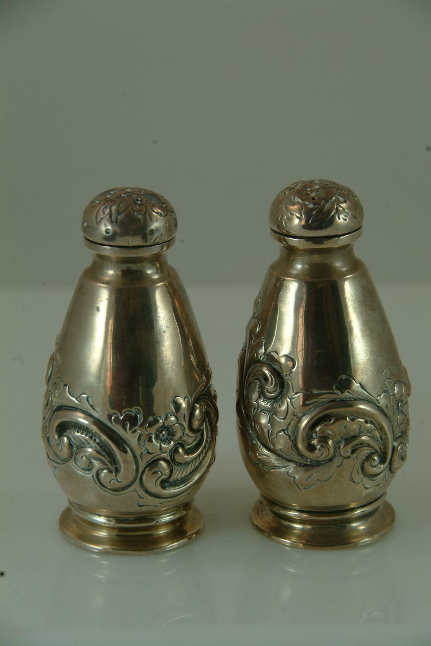 Sterling Silver Salt and Pepper from England c. 1900