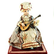19 th c. Automaton Doll and Music Box