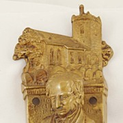 "Brass William Wordsworth"" Door-Knocker"