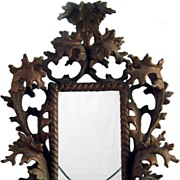 Late 19th Century Bronze Ornate Picture Frame