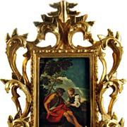 Beautiful Gold Leaf Gesso Frame
